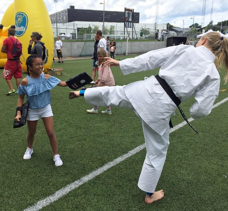 Nya sparkar en kick for barnen